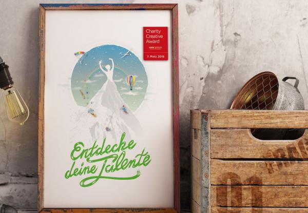 Plakatdesign für Creative contest