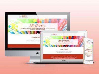 Eine neue Website für CMBR Vertriebsagentur