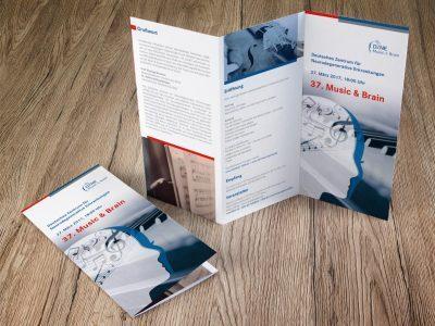 Grafikdesigner Köln - Flyer-Design für DZNE Bonn