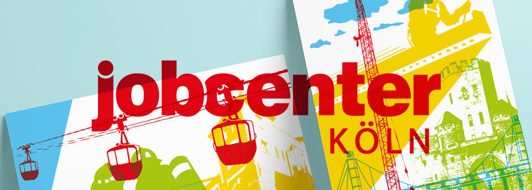 Posterdesign für Jobcenter Köln