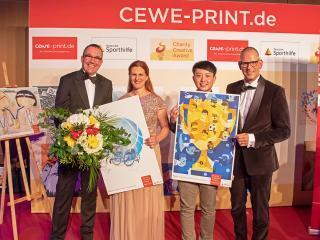 2. Platz beim CEWE Print Charity Creative Award 2019