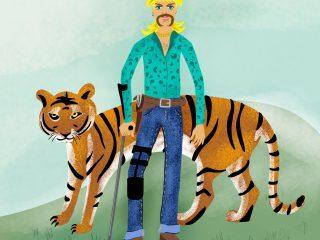 Tiger King - Joe Exotic Illustration